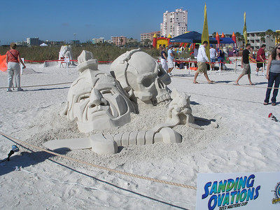 2012-11-18 - Sand Sculptures at Treasure Island