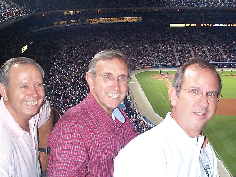 At the Braves Game 9/30/2000