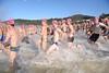 Splash! - Race Start - 2013 Eyeline 1000 Noosa Ocean Swim, Noosa Heads, Sunshine Coast, Queensland, Australia, 1 November. Photos by Des Thureson disci.smugmug.com