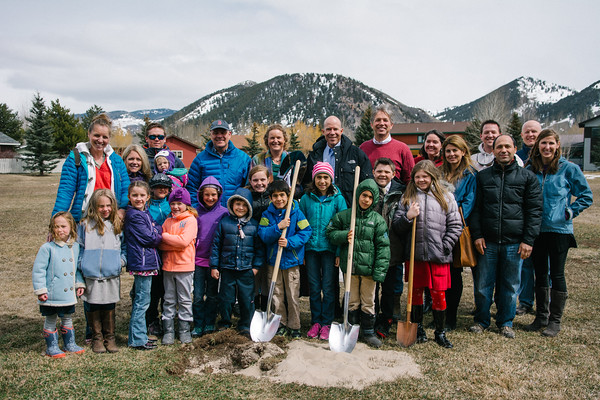Jackson Hole Classical Academy Ground Breaking
