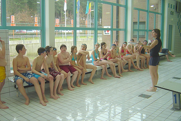 Zwemmen, 6de lj.