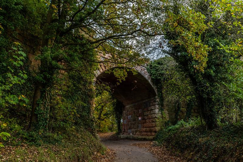 Stourport Line Bridge over Public Footpath