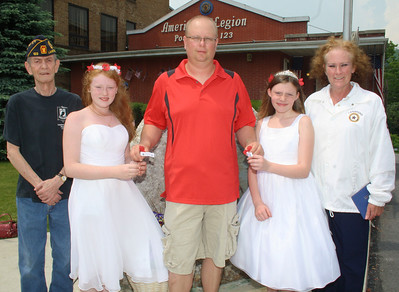 Poppy Queens, Lansford American Legion, Lansford (5-26-2012)