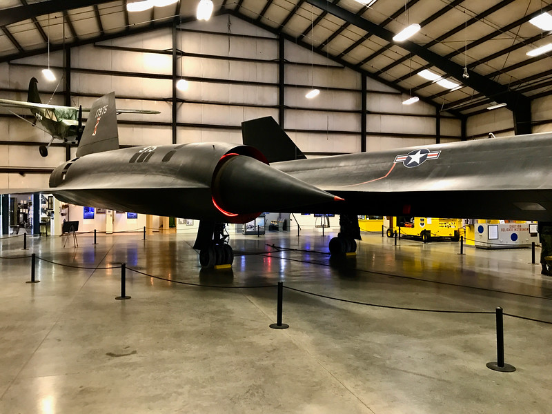 SR-71 at March Field Museum