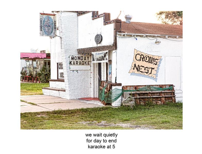2010-07-25 Crow Nest karaoke Rockport poem.jpg