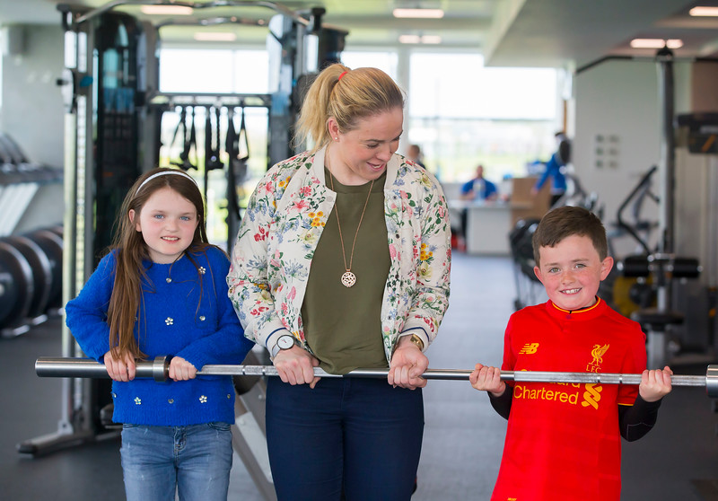 18/04/2017. Pictured at The WIT Arena at the augural WIT Arena Sporting Ambassador. Pictured is Niamh Briggs WIT Arena Sporting Ambassador . Picture: Patrick Browne