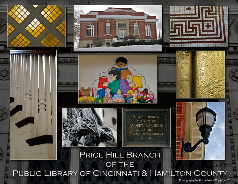 Carnegie Library - Price Hill - Opened 1909