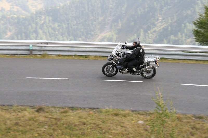 Chris from Belgium - photo taken at the Nockalmstrasse in Austria. We (Chris and husband Danny, also a R1200GS rider!) were there for a trip of seven days and we stayed at the Weisensee. More photos here:  http://rusor.smugmug.com/gallery/5966714_CEFPU#P-1-15
