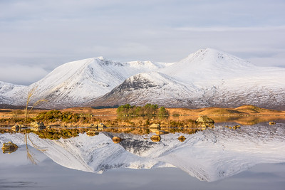 Reflections at Lochan na h-Achlaise