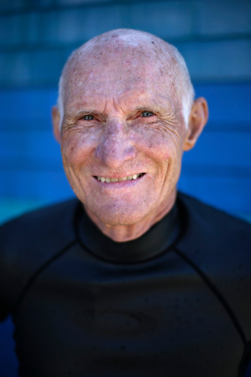 """. Richard Hardick, 74, stands in his wetsuit after surfing in San Diego on Tuesday, Sept. 17, 2013. When asked: As you grow older, what are you most afraid of and what is the biggest problem facing the elderly in your country? Hardick said, \""""I\'m not afraid of getting older. I surf, I fly fish in Alaska, I teach at a high school. I happen to be a little different than most: I\'m religious. I\'m an Augustinian. I\'ve taken vows of poverty, chastity, and obedience. I don\'t have any particular fears. I\'m having a great time.\"""" \""""I think it\'s very likely people getting old and having health issues. Diabetes and Alzheimer\'s. Those I think are the real challenges.\"""" (AP Photo/Gregory Bull)"""