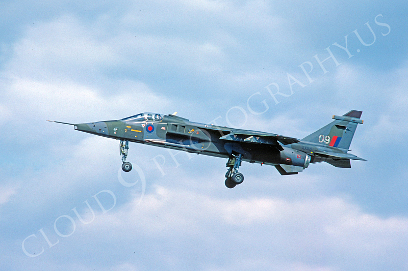 SEPECAT Jaguar 00014 SEPECAT Jaguar British RAF XX113 September 1980 by Peter J Mancus.JPG