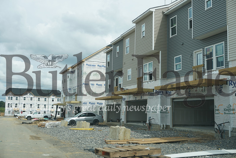 Photo by J.W. Johnson Jr. Work is ongoing at the Park Place development in Cranberry Township.