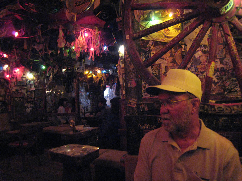 David at Big Bad John's Bar