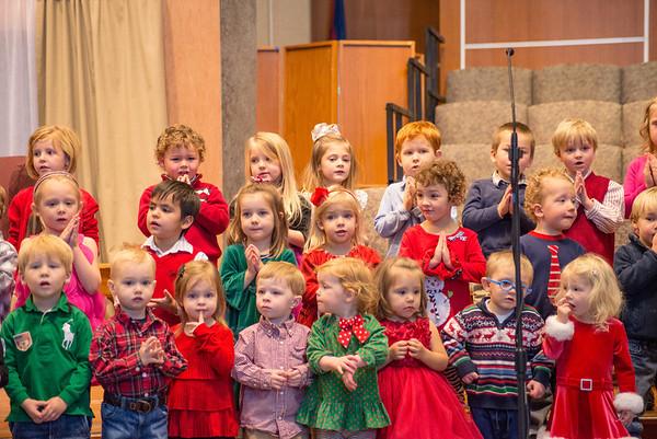 Christmas 2014 - Preschool music program