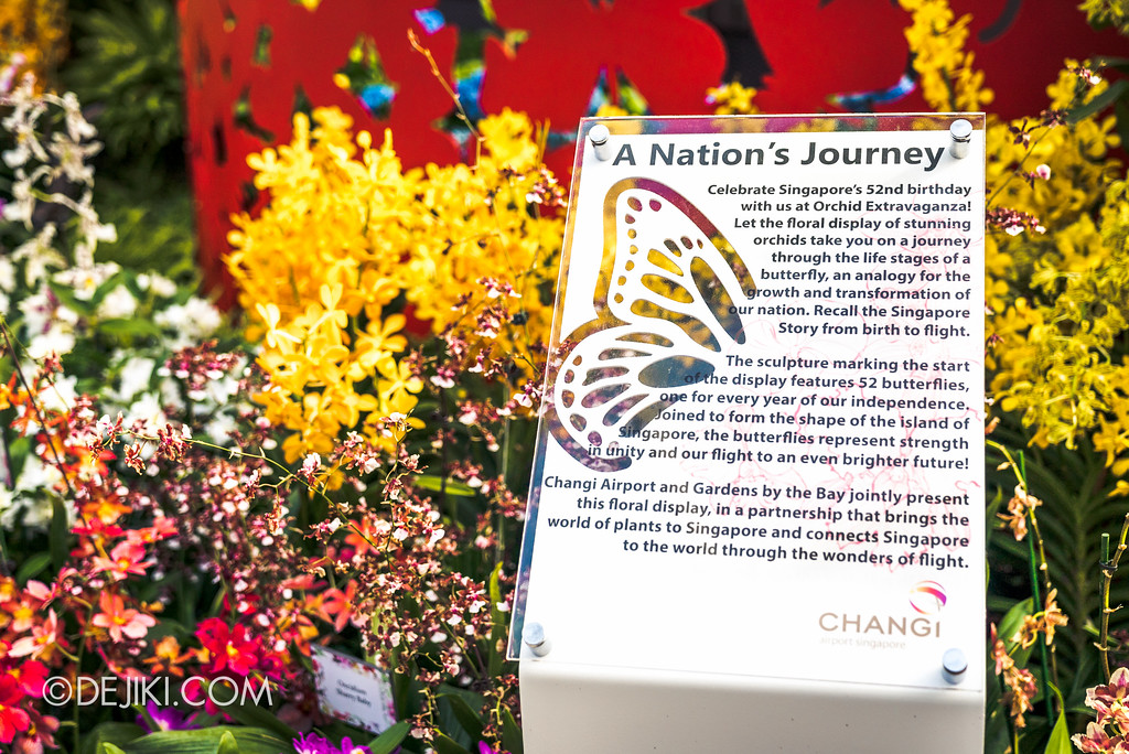 Gardens by the Bay Flower Dome - Orchid Extravaganza Floral Display 2017 / Nation's Journey