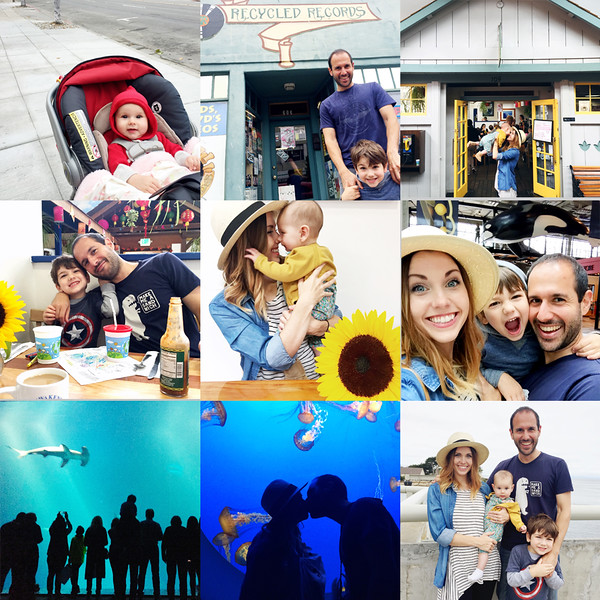 Family trip/vacation to Monterey, CA (Tenley Clark Photography)
