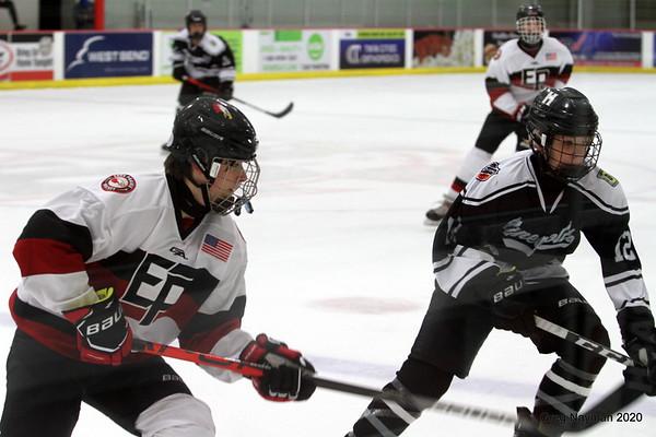 Minneapolis v Eden Prairie boys hockey by Greg