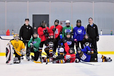 2015-03-08 Giants Players at Van Angels Bantam A Practice