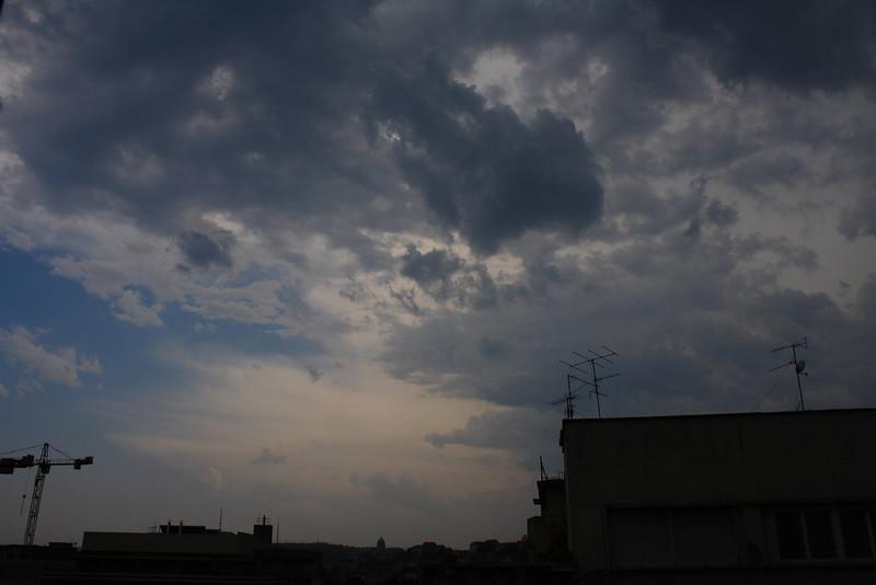 Jön a vihar Budapesten