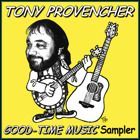 Tony's Music - Cover Art