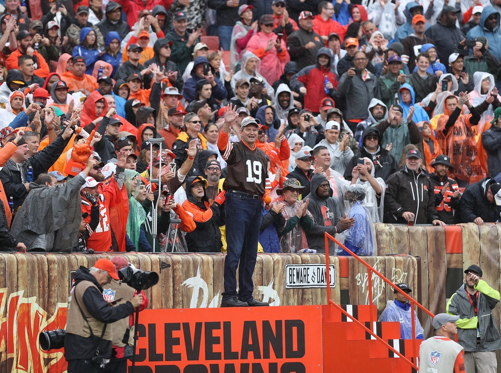 . Tim Phillis - The News-Herald Photos from the Browns vs. Steelers game on Sept. 9, 2018, at FirstEnergy Stadium in Cleveland.