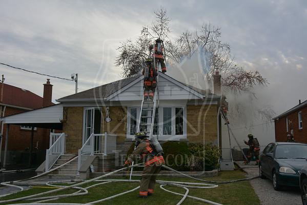 April 19, 2015 - Working Fire - 170 Flora Dr.
