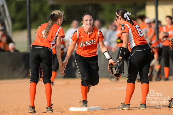 NDHS Softball vs Soutern Alamance (3rd round playoffs)