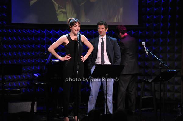 Pia Zankel, Jimmy Zankel photo by Rob Rich © 2014 robwayne1@aol.com 516-676-3939