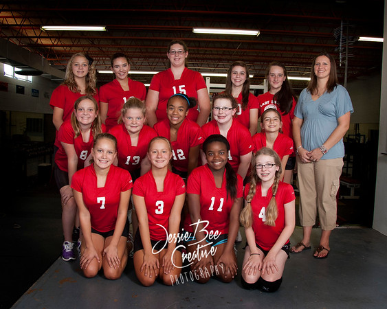 2011 FBA Middle School Volleyball
