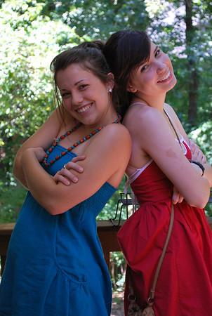 August 2008 - Nicky & Cassie
