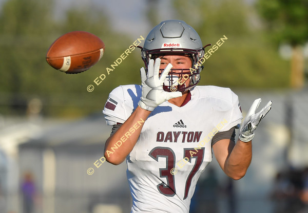 August 17, 2018; Dayton vs. Yerington, Varsity Football
