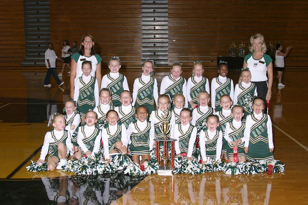 1st , 2nd and 3rd Place Cheer-off Champions (1st and 2nd Grade)