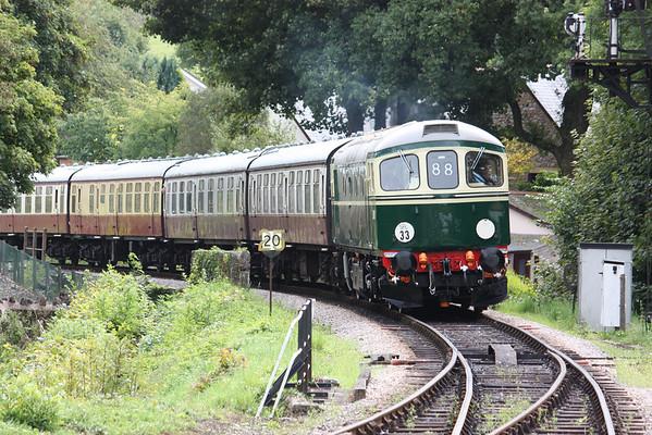 33002 - South Devon Railway, 30th August 2014