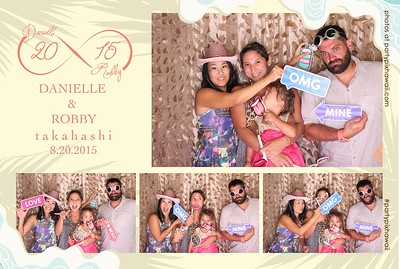 Robby & Danielle's Wedding (LED Open Air Photo Booth)