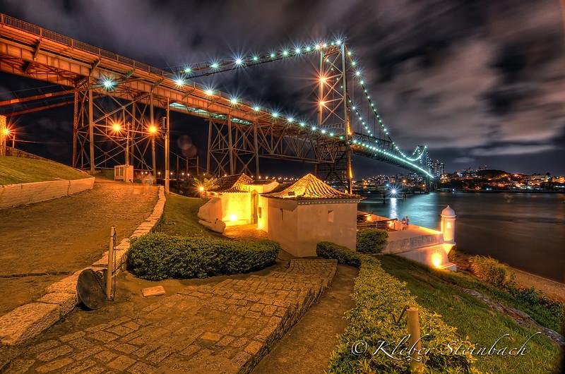 Ponte Hercílio Luz, Florianópolis, Brasil