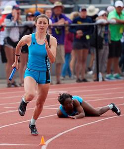 4x200 meter finals