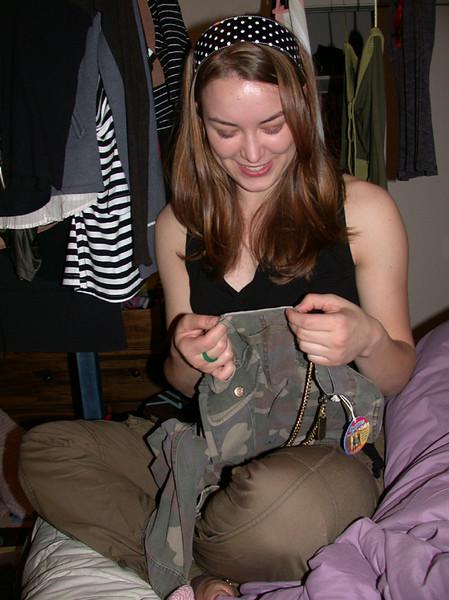 Alia inspects