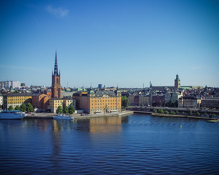 View from Stadshusparken
