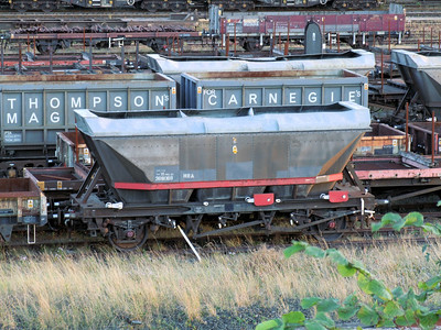 HBA - 2 Axle 'MGR' Style Lime Hopper Wagon (with Canopy)