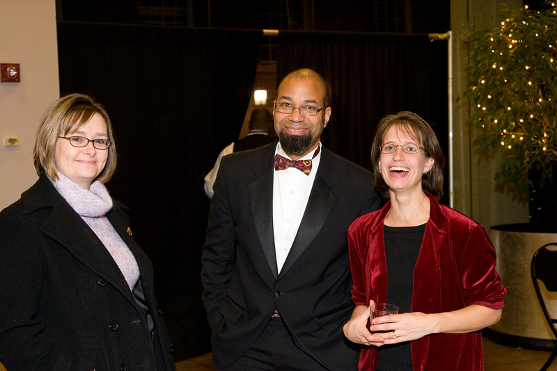John Stanmore and Laurie White -- HSO 25th anniversary post-concert Gala