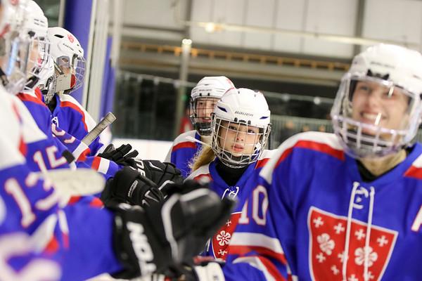 Girls' Varsity Hockey vs. KUA   January 25