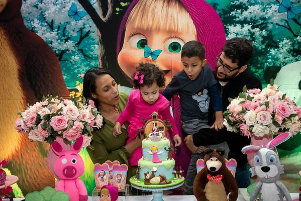 Festa da Masha e o Urso em Contagem da Catarina