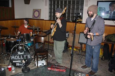 Benefit Bands, Franks Place, Middleport (1-26-2013)