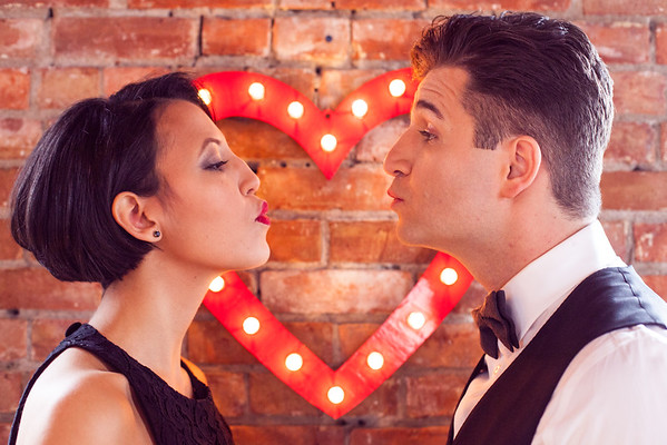 Electric love Styled Engagement shoot
