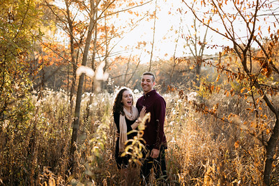 Frick Park Pittsburgh | Samantha + Alex |  Engagement Photography Session