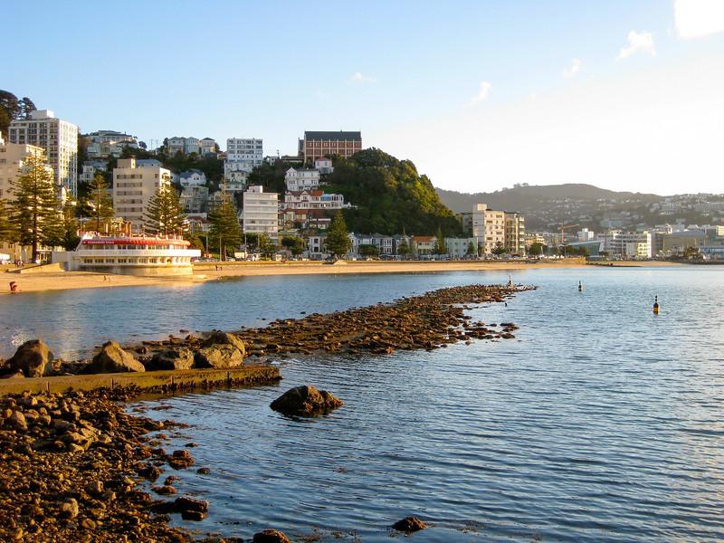 Oriental Bay in Wellington
