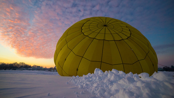 2016 - Post Blizzard US Hot Air Balloon Ride