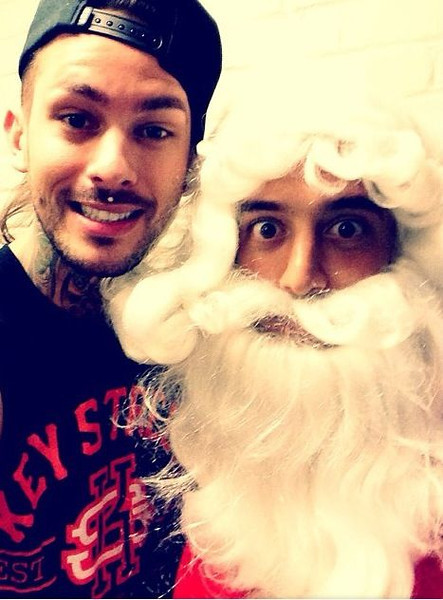 Adam Elmakias Santa Claus A Day To Remember House Party Tour