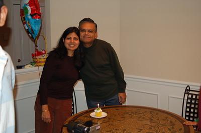 12-2006 Pamela & Navneet visit for Sagar Bday