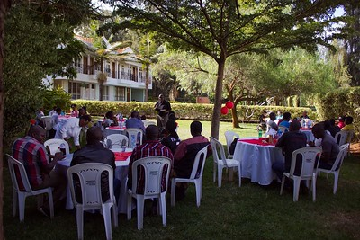 Timothy's Graduation Party by Dennis Kamau